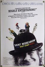 SAINT MISBEHAVIN': THE WAVY GRAVY MOVIE ROLLED ORIG 1SH MOVIE POSTER DOCU (2009)