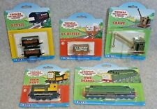 Group of Five Thomas and Friends- 3D Plastic Faces- Small Cloud packaging- NIB!