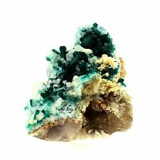 Dioptase + Calcite. 1398.5 ct. Kaokoveld Plateau, Namibie