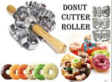DIY 6 Sides Variable Pattern Roller Donut Cutter Maker Mould Baking Mould