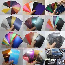 Testing Samples 3D 4D 5D Carbon Fiber Matte Chrome Mirror Vinyl Wrap Sticker CF