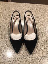 DKNY (Donna Karen NY  Black Suede Sling Back shoes size 40