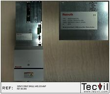 Rexroth Indramat SERVO DRIVE SINGLE AXIS 200AMP HDS04.2-W200N-HA01-01-FW