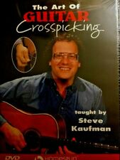 Art Of Guitar Crosspicking: Steve Kaufman [Homespun Fingerstyle Instruction DVD]