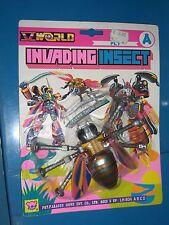 VINTAGE 80'S INVADING INSECT FLY A V WORLD ROBOT MOC TRANSFORMER