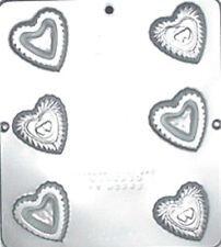 Heart Box Chocolate Candy Mold Valentine  3052 NEW