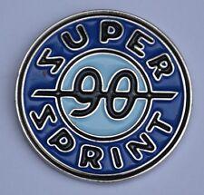 Blue Vespa Super Sprint 90 Quality Enamel Pin Badge