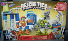 MEGA BLOKS RESCUE TECH RT COMMAND CENTER SET #8040