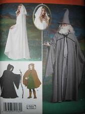 PATTERN misses mens CAPE TUNIC HAT XS-XL s1582 teens NEW hobbit robe hood