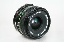 Canon f/2.8 1:2.8 28mm FD Lens AE1 A1 F1 AV1 AT1 T50 T70 Good Overall Condition