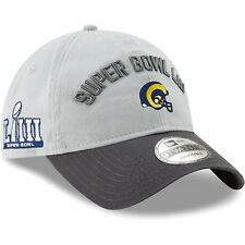 42862be2b3109 Los Angeles Rams New Era Super Bowl LIII Bound Two-Tone 9TWENTY Adjust. Hat