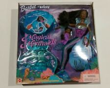 Barbie & Krissy Magical Mermaids Doll Light-up Tail Glowing Shell NEW 2000