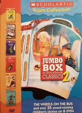 Jumbo Box of Storybook Classics, Vol. 2 (Scholastic Video Collection) FREE SHIP