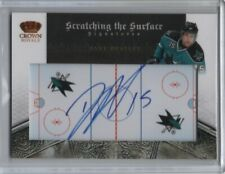 2010-11 Crown Royale Scratching the Surface Autograph #29 Dany Heatley 10/25