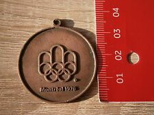 MONTREAL CANADA 1976 MEDAL COIN MEDAILLE OLYMPIC GAMES