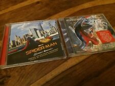 Spiderman CD Soundtrack Collection Homecoming Michael Giacchino & Amazing 2 Hans
