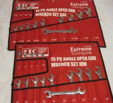 Special: 2 Open End 4-Way Angle Wrench Sets SAE & Metric ETC Extreme Torque Corp