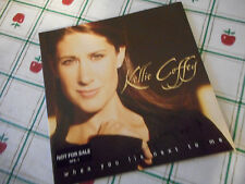 Autographed Kellie Coffey When You Lie Next To Me CD Insert