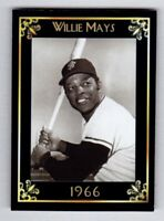 Willie Mays '66 San Francisco Giants Monarch Corona Heritage Series serial #/50