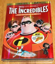 The Incredibles (Dvd, 2-Disc Set, Fullscreen, Collectors Edition) - New - Disney