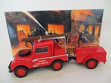 MATCHBOX YFE02 1948 LAND ROVER AUXILARY FIRE ENGINE MIB. MODELS OF YESTERYEAR