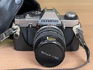 Olympus OM20 Film Camera & Olympus 35-70mm F3.5-4.5 Zoom Lens and Case