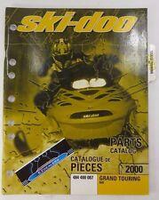 Ski-Doo 2000 Grand Touring 600 Oem Factory Parts Book Catalog Manual 484 400 087