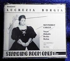 Donizetti: Lucretia Borgia  Montserrat Caballe Legato Classics 2 CD Set
