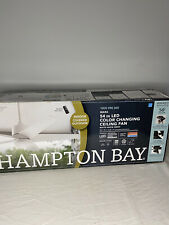 Hampton Bay- Mara 54 In Indoor/Covered Outdoor Color Changing Fan With Remote