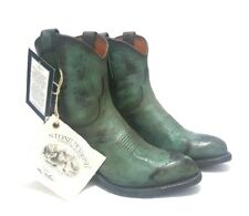Lucchese Women's Wyly Western Boot  Antique Turquoise Size US 7.5 B