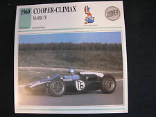 Card 1960 Cooper-Climax Mark lV (Nederlands) (CC)