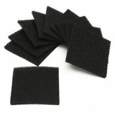 2/5/10Pcs Square Universal Activated Carbon Air Filter Sponge Foam Pad