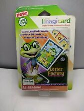 ImagiCard Letter Factory Adventures Learning Game for Select LeapPad Tablets