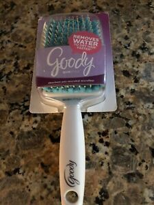 Goody QuikStyle Hair Brush  Anti Microbial Microfiber  Removes Water