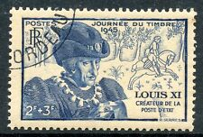 TIMBRE FRANCE OBLITERE N° 743 LOUIS XI JOURNEE DU TIMBRE photo non contractuelle