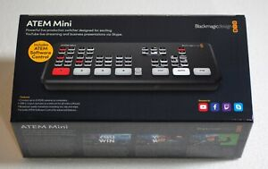 Blackmagic Design ATEM Mini HDMI Live Switcher, Original Box & Power Supply A+++