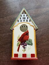 "Lenox Winter Greetings Cardinal Votive 6 1/2"" H"