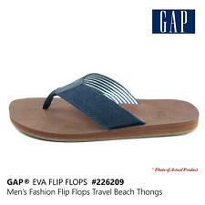 GAP Men's EVA Flip Flops Fashion Slippers Travel Thongs Beach Sandals