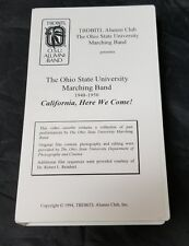 The Ohio State University Marching Band 1948-1950 California, Here We Come RARE
