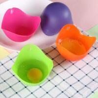 Kitchen Silicone Egg Poacher Poaching Pod Pan Poached Cup Mould G4W4