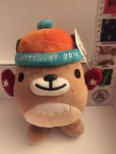"""New Vancouver 2010 Winter Olympics Mukmuk Plush 9.5"""" Mascot with Red Mittens (M)"""