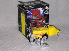 MIGHTY MORPHIN POWER RANGERS THE MOVIE ACTION VINYLS SABERTOOTH TIGER ZORD METAL
