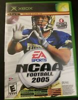 XBOX NCAA Football 2005 Live online enabled
