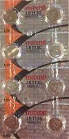 8 PACK Maxell Hologram LR1130 189 Alkaline Coin Cell Batteries 1.5V- USA Seller