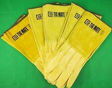 5 Pair TIGMATE LARGE TIG Welders Gloves LARGE TIG gloves Kevlar TIG Gloves 5Pr