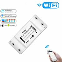 DIY Wifi Smart Switch Alexa Google Home iOS Android APP Timer Breaker Module New
