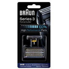 BRAUN 4845 4835 etc 4000 SERIES Foil & Cutter Replacement 30B Tricontrol Syncro