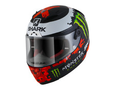 Shark Race-R Pro Replica Lorenzo Monster MAT KRG Helmet Motorbike SALE