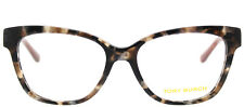 Tory Burch Ty 2079 Brown Pearl Havana 1682 Eyeglasses Frame 51-16-135 Cat Eye