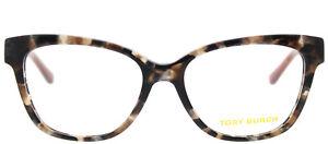 Tory Burch TY 2079 Brown Pearl Havana 1682 Eyeglasses Frame 51-16-135  Cat Eye